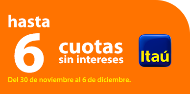 Cuotas Itaú